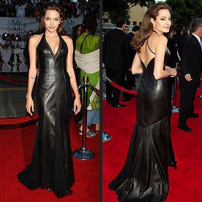 Modelos de Vestidos da Angelina Jolie
