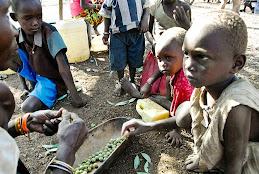 捐助東非地區受糧荒影響的災民