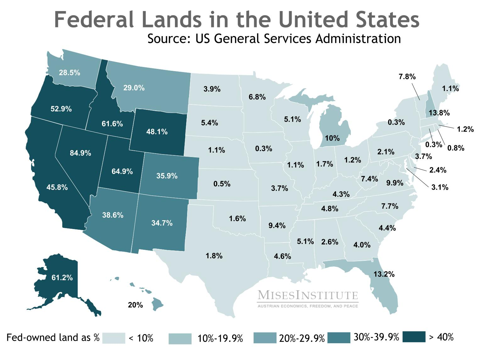 Oregon and the Problem of Federal Lands | Mises Wire