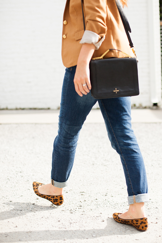 Here&Now: boyfriend jeans + blazer