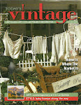TODAY'S VINTAGE MAGAZINE MARCH 2011 ISSUE