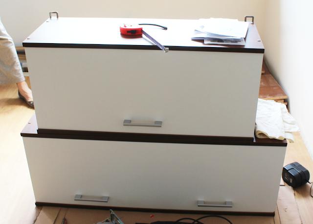 szafki kuchenne wiszące,jak złożyc kuchnie krok po kroku DIY
