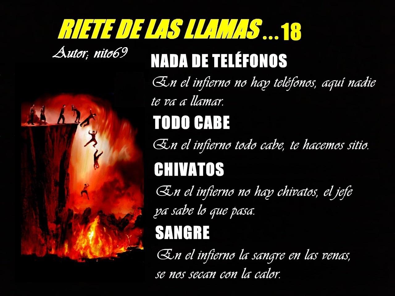 RIETE DE LAS LLAMAS…18
