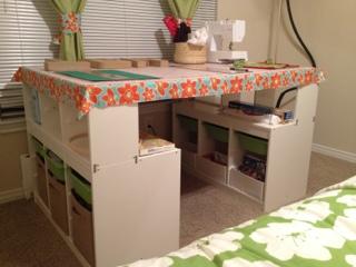 Ikea Small Craft Room Hack