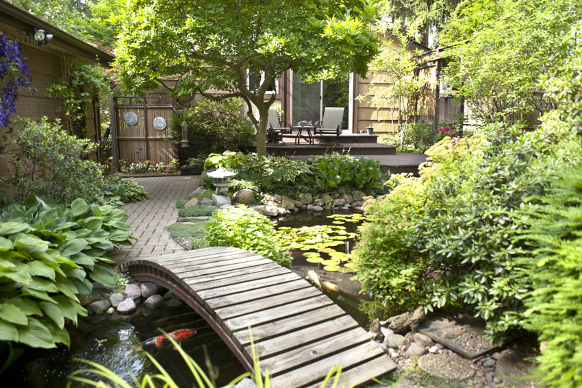 Aquascape your landscape every deck needs a pond for Balcony koi pond