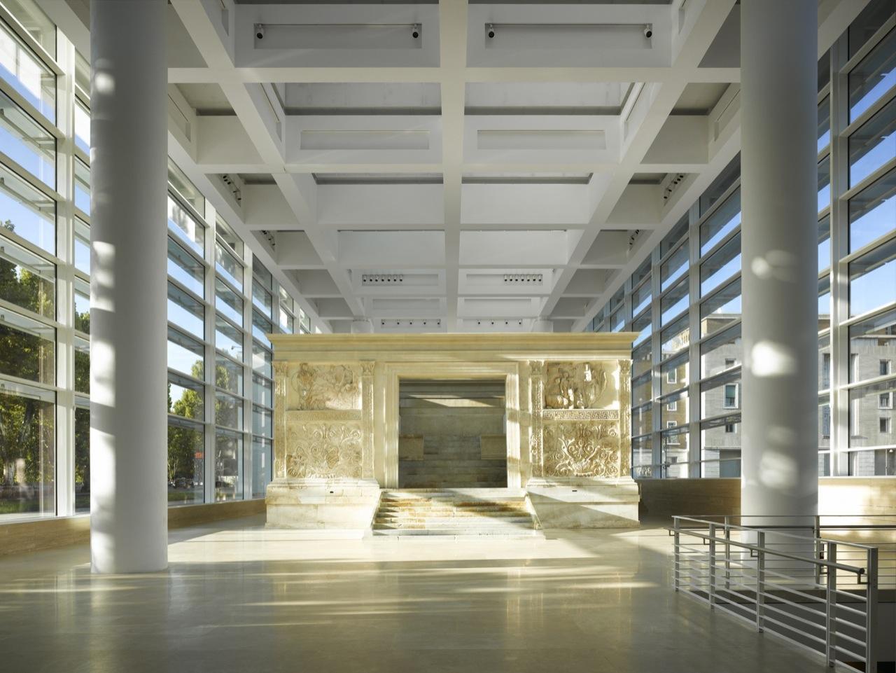 architecture as aesthetics ara pacis museum richard