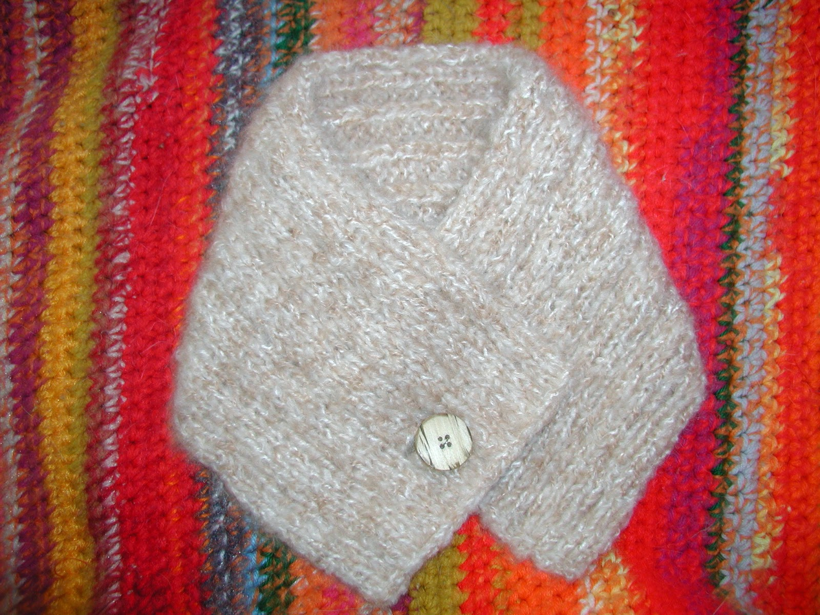 Minis knits and purls july 2014 so not absolutely sure of the fiber in this neck warmer but i think its a brushed acrylic bulky weight the pattern knitted neck warmer can be found bankloansurffo Choice Image