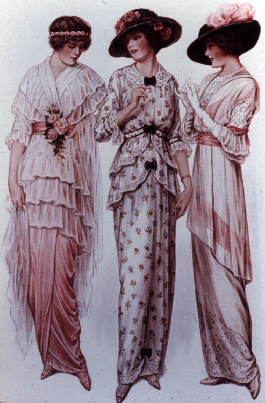 Fashion through time 1910s the beginning of women 39 s for Innenarchitektur 1920
