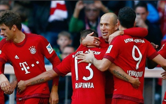 Bayern de Munique 4 x 0 Colônia - Bundesliga 2015/16