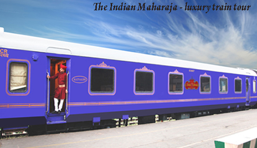 The Indian Maharaja - luxury train tour of India