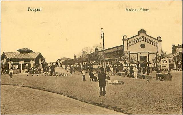 Piata Moldovei din Focsaniul vechi