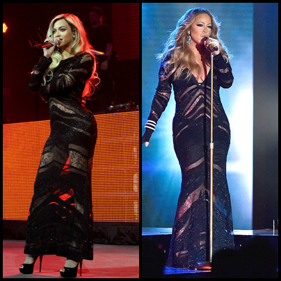 Photos: Who Wore It Better? Beyonce or Mariah Carey