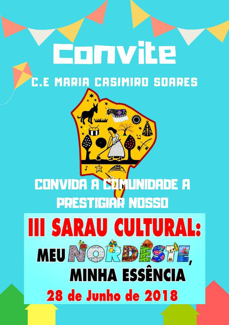 CONVITE DA ESCOLA MINHOCÃO