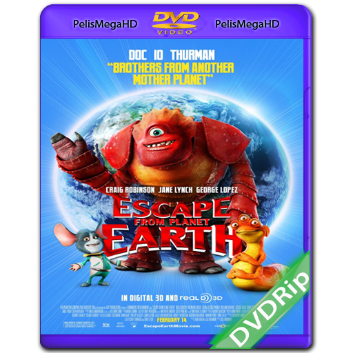 ESCAPE FROM PLANET EARTH (2013) DVDRIP ESPAÑOL LATINO
