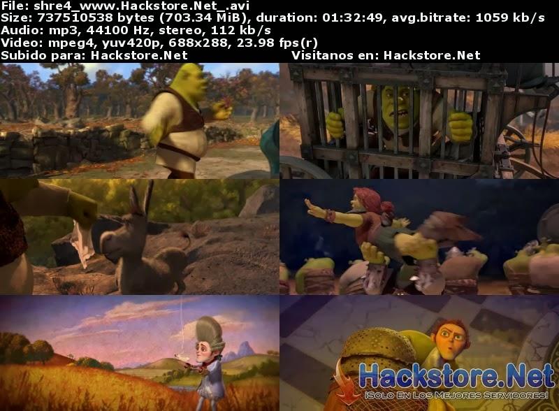 Captura Shrek 4 (2010) DVDRip Latino