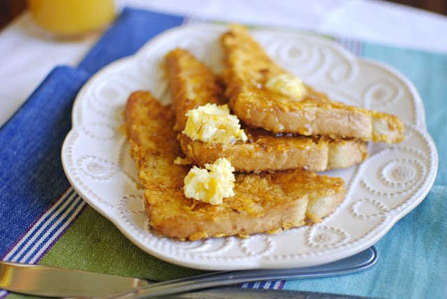Cornflake Crusted French Toast l SimplyScratch.com