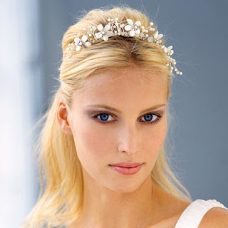 wedding tiara hairstyles long hair