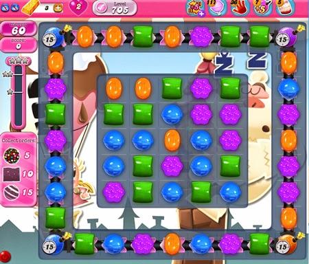 Candy Crush Saga 705
