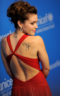 Alyssa Milano Hairstyles and Tattoo Photo Gallery