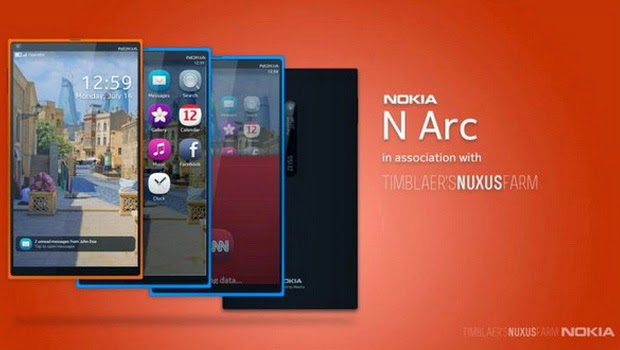 Nokia Rilis N Arc Untuk Penerus Generasi N9
