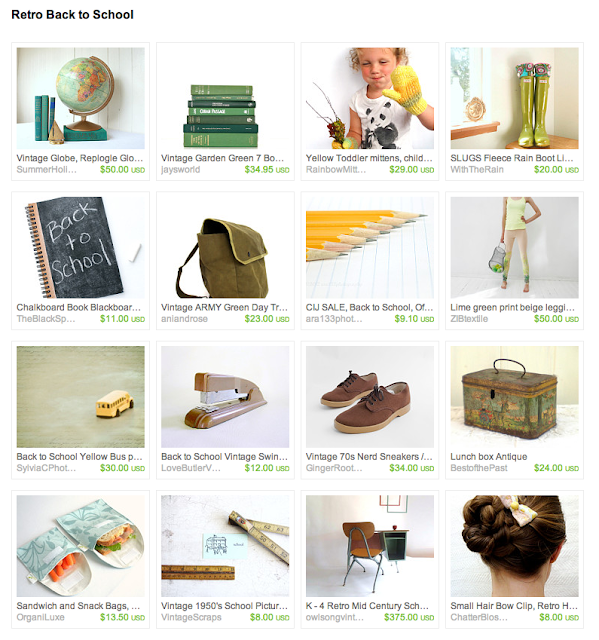 featured items from shops all for school and school supplies and apparel