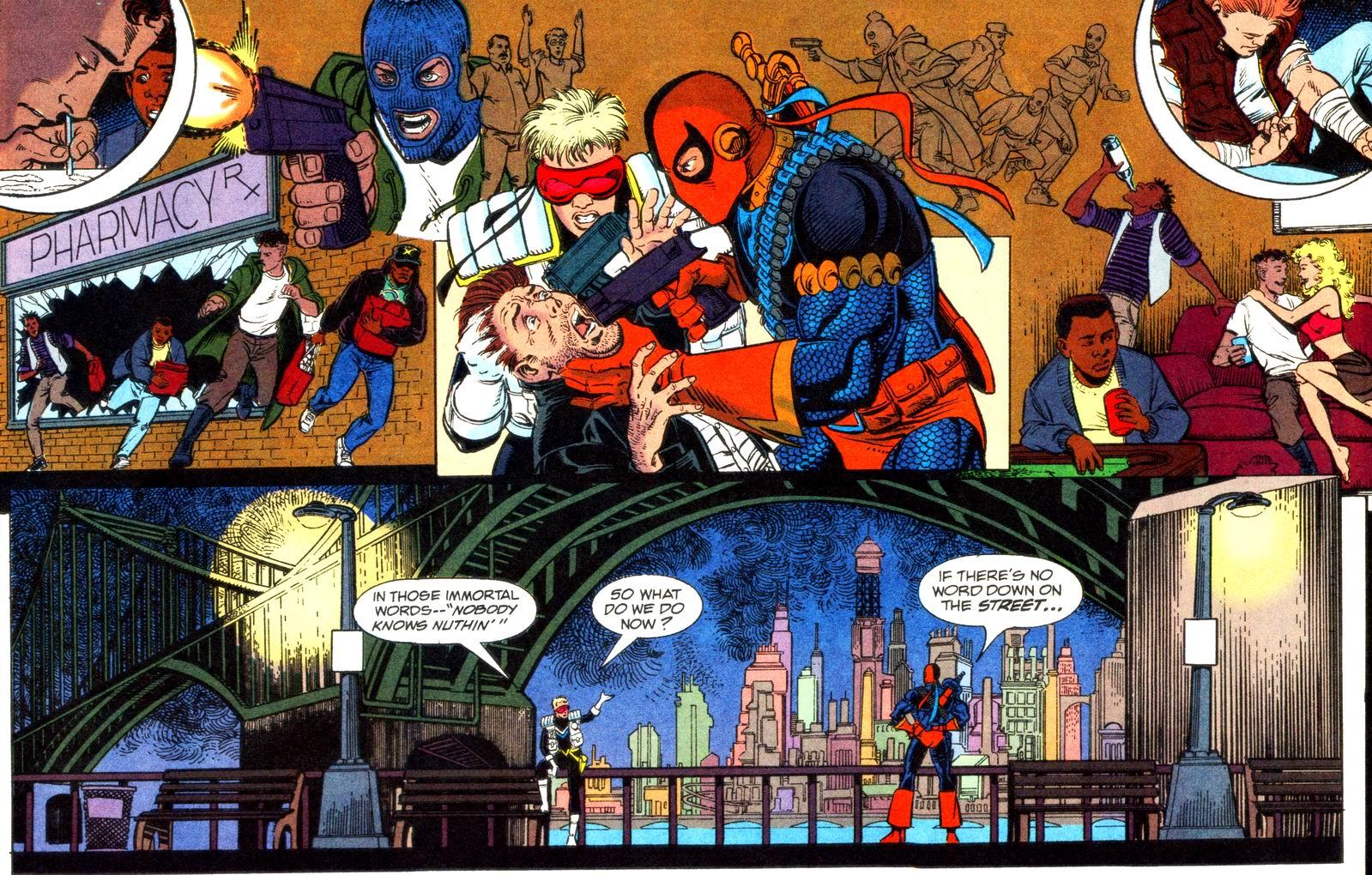 Deathstroke (1991) Issue #11 #16 - English 12