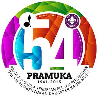 Logo Hari Pramuka ke-54 Tahun 2015