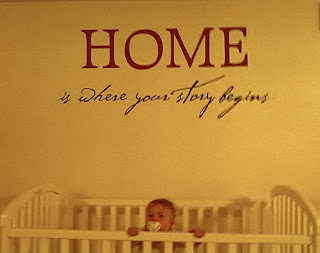 Home Is Where Your Story Begins WallQuote