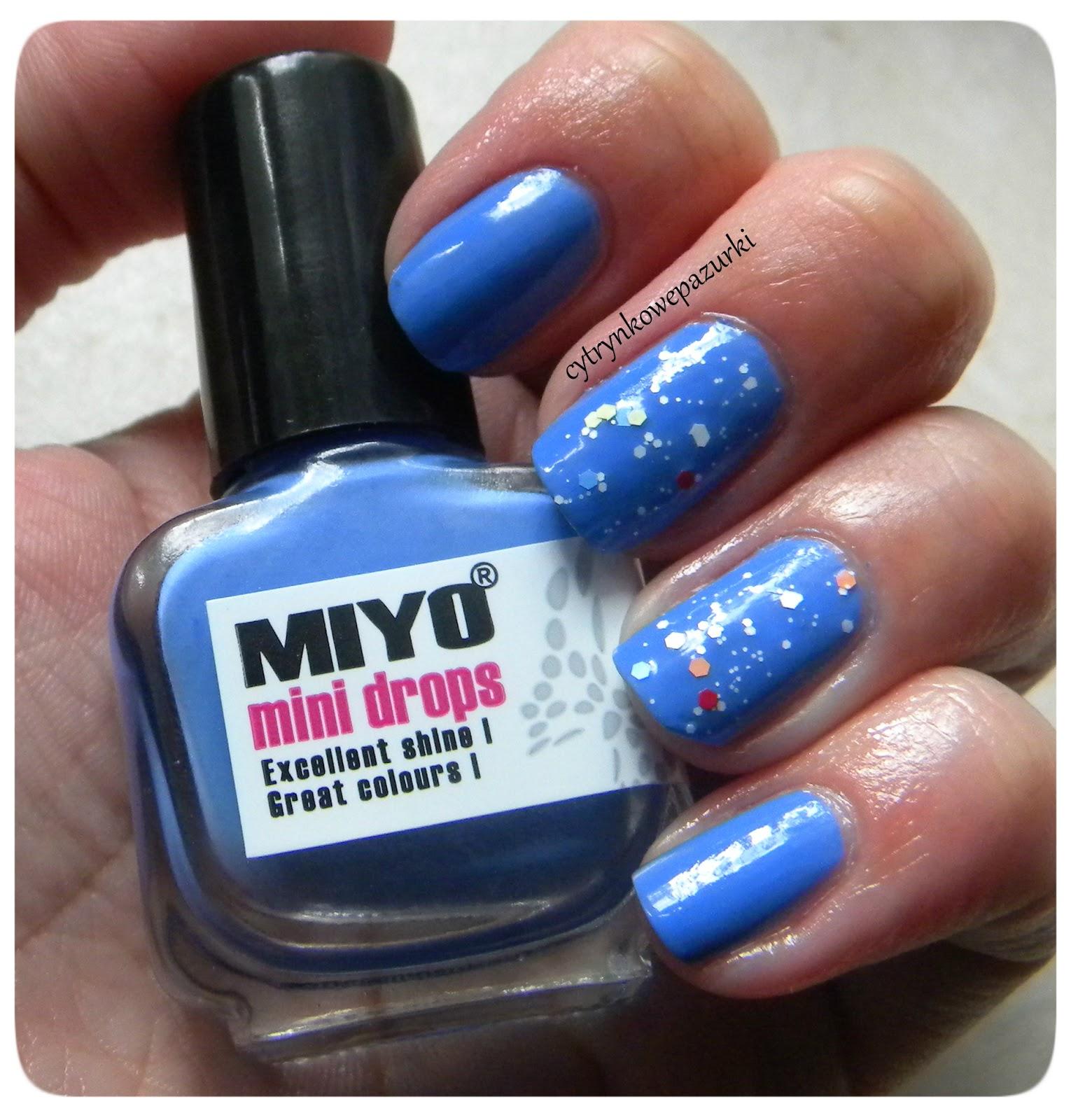 Poniedziałki z Miyo Mini Drops 155 Deep Skyblue i Life 10