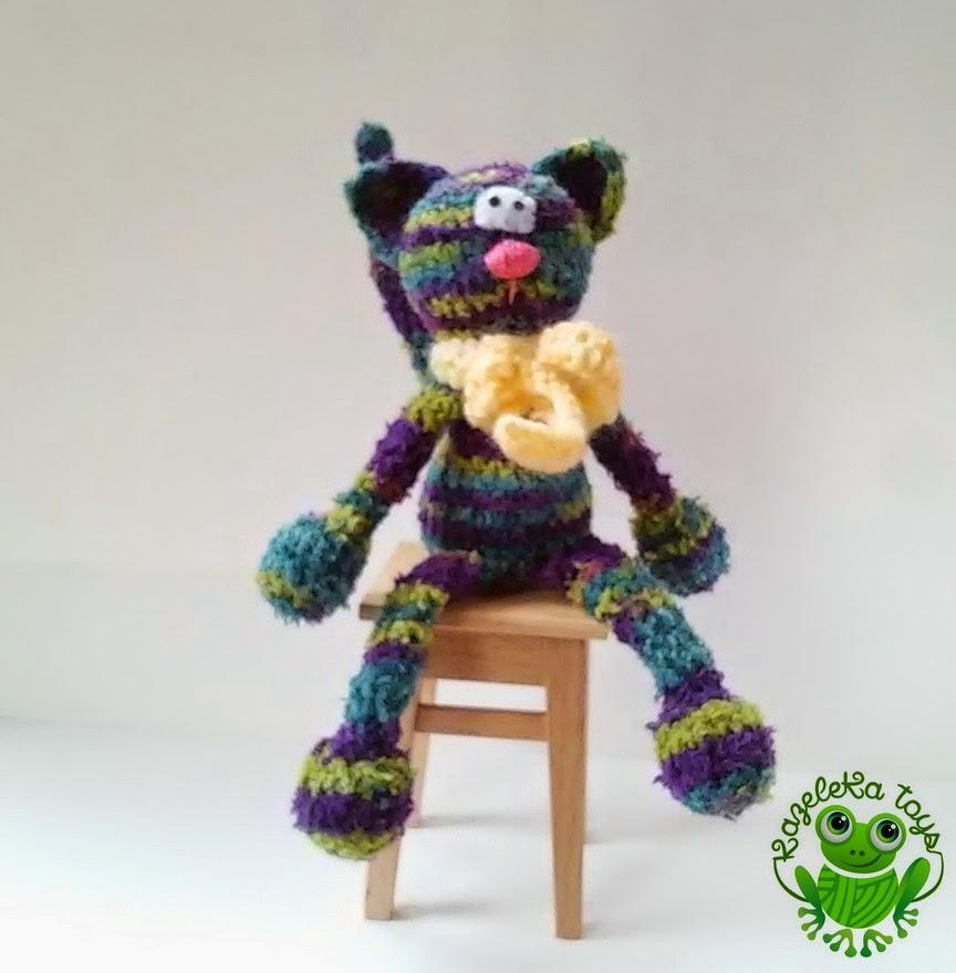 игрушка для детей котик