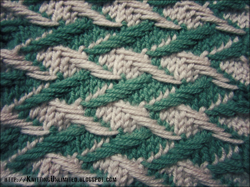 Zig-zag Jacquard - Knitting Unlimited