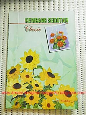 buku cara membuat bunga sedotan 1 Rp 25.000