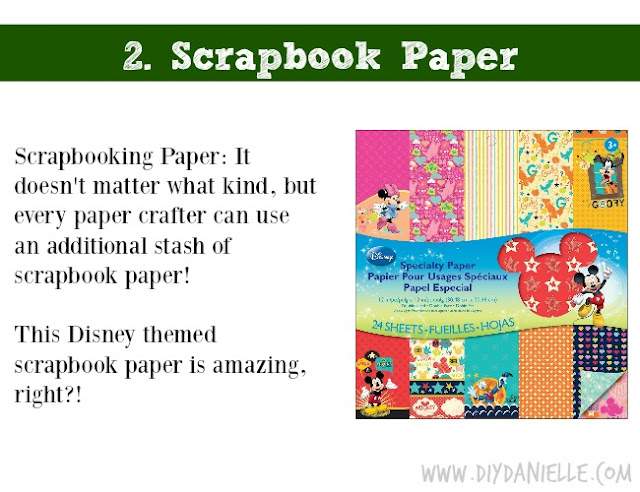 Holiday DIY Gift Guide: Scrapbook Paper