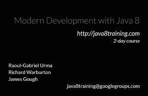 Java 8 Training