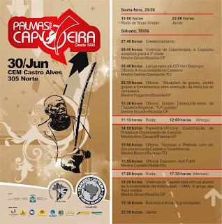 Palmas para Capoeira - Convite, VT Televisão