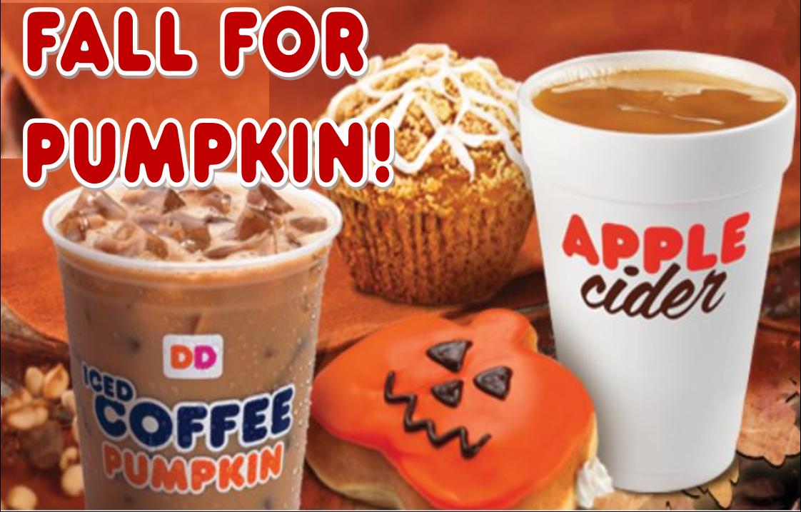 ThemeParkMama: Dunkin Donuts Fall Menu!