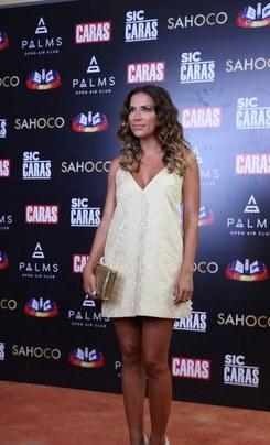 Look de Dânia Neto  - Festa de verão da SIC e Revista CARAS 2015