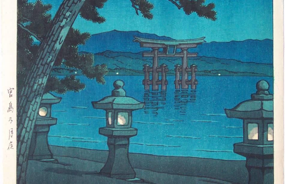 solitary dog sculptor  engravings - grabados  ukiyo-e - part 26