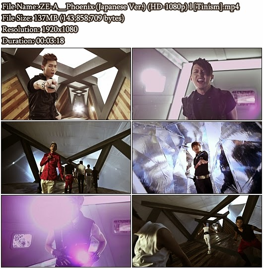 Download PV ZE:A - Phoenix (Japanese Version) (Full HD 1080p)