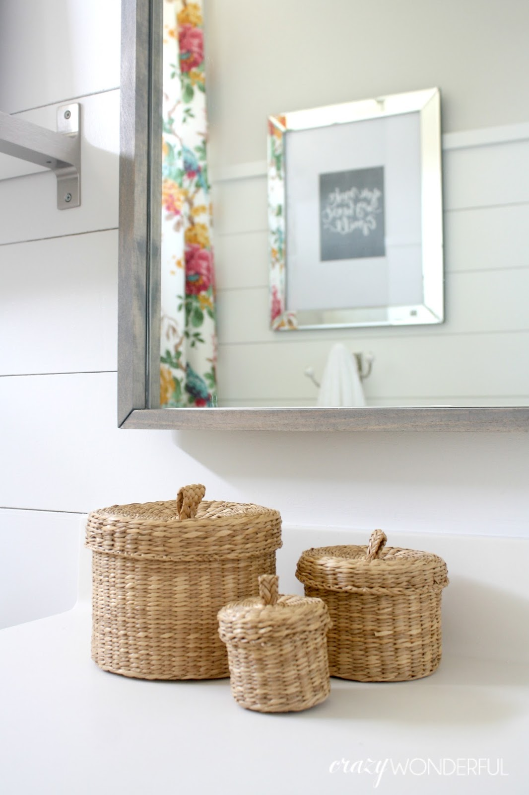 shiplap girl s bathroom reveal. shiplap girl s bathroom reveal   Crazy Wonderful