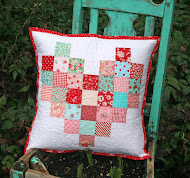 easy patchwork heart pillow