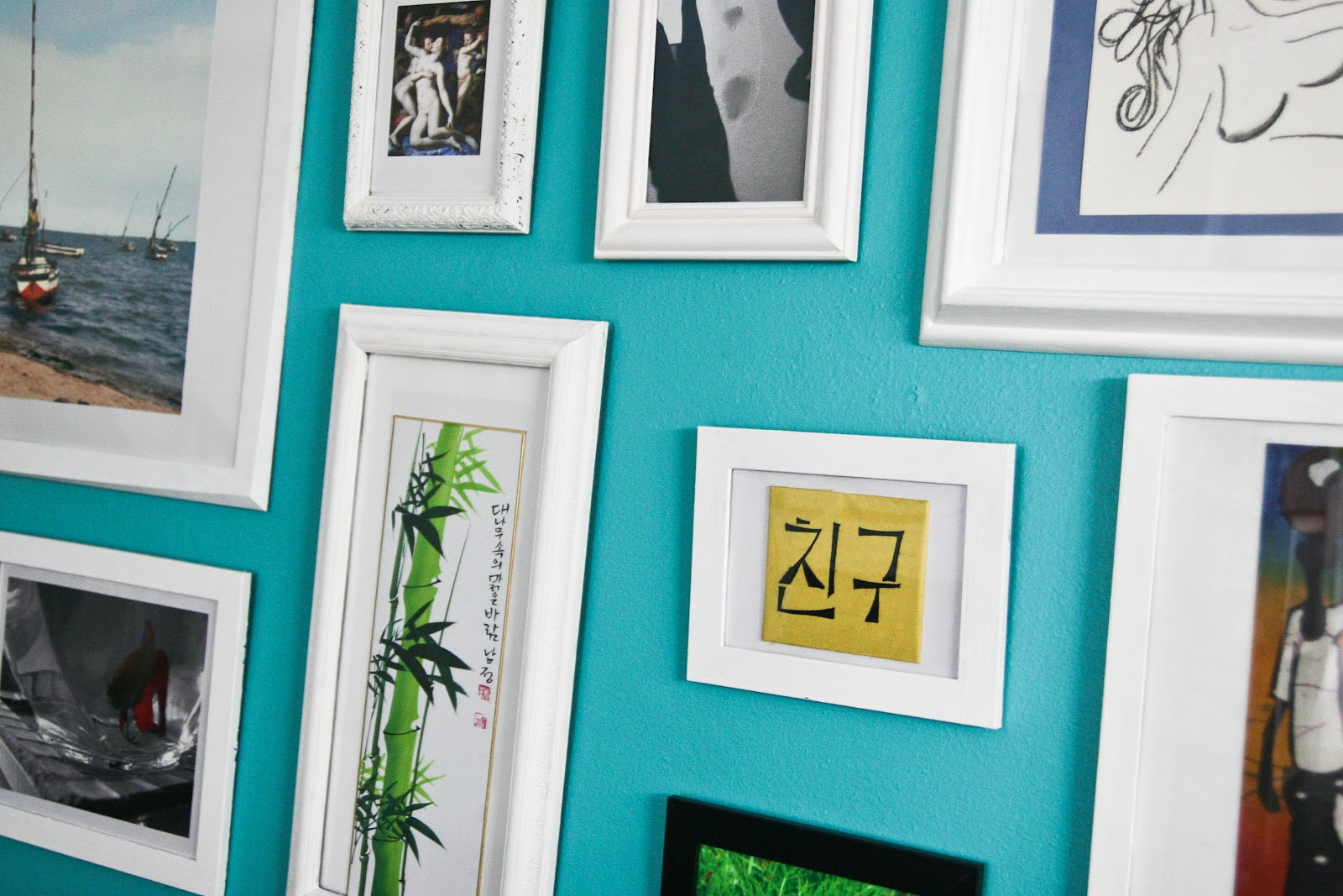 Turquoise and lime white interiors - Bright turquoise paint colors ...