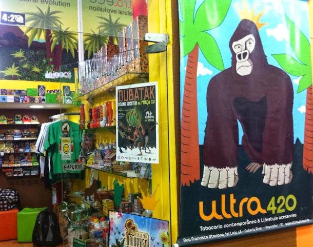 Ultra 420 Rio, entre os famosos bairros de Copacabana e Ipanema na histórica Galeria River.