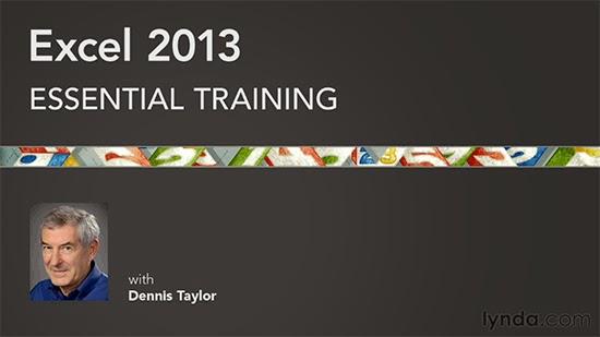 Lynda – Excel 2013 Essential Training