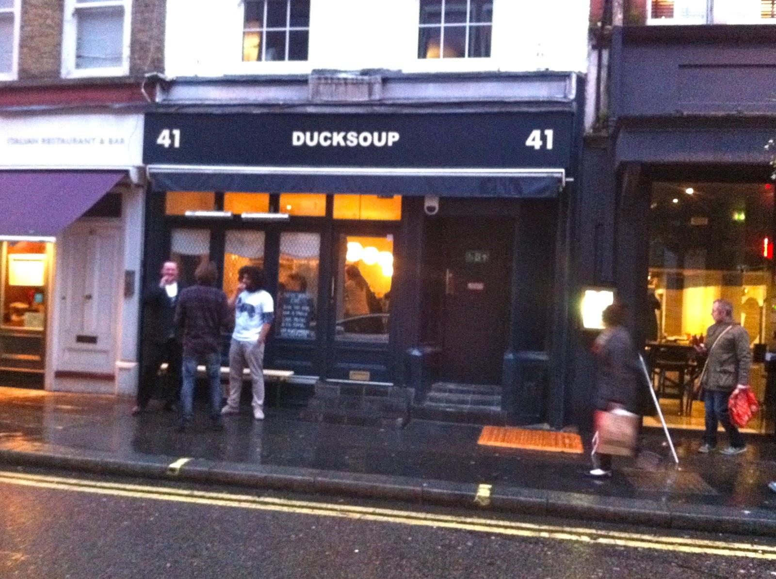 Not Drinking Poison In Paris N D P In London Duck Soup