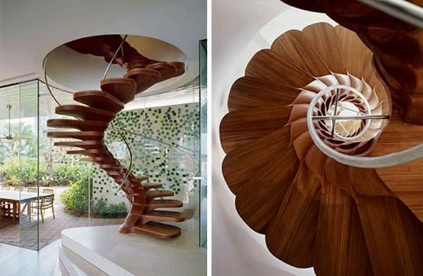 tangga-kayu-lingkaran