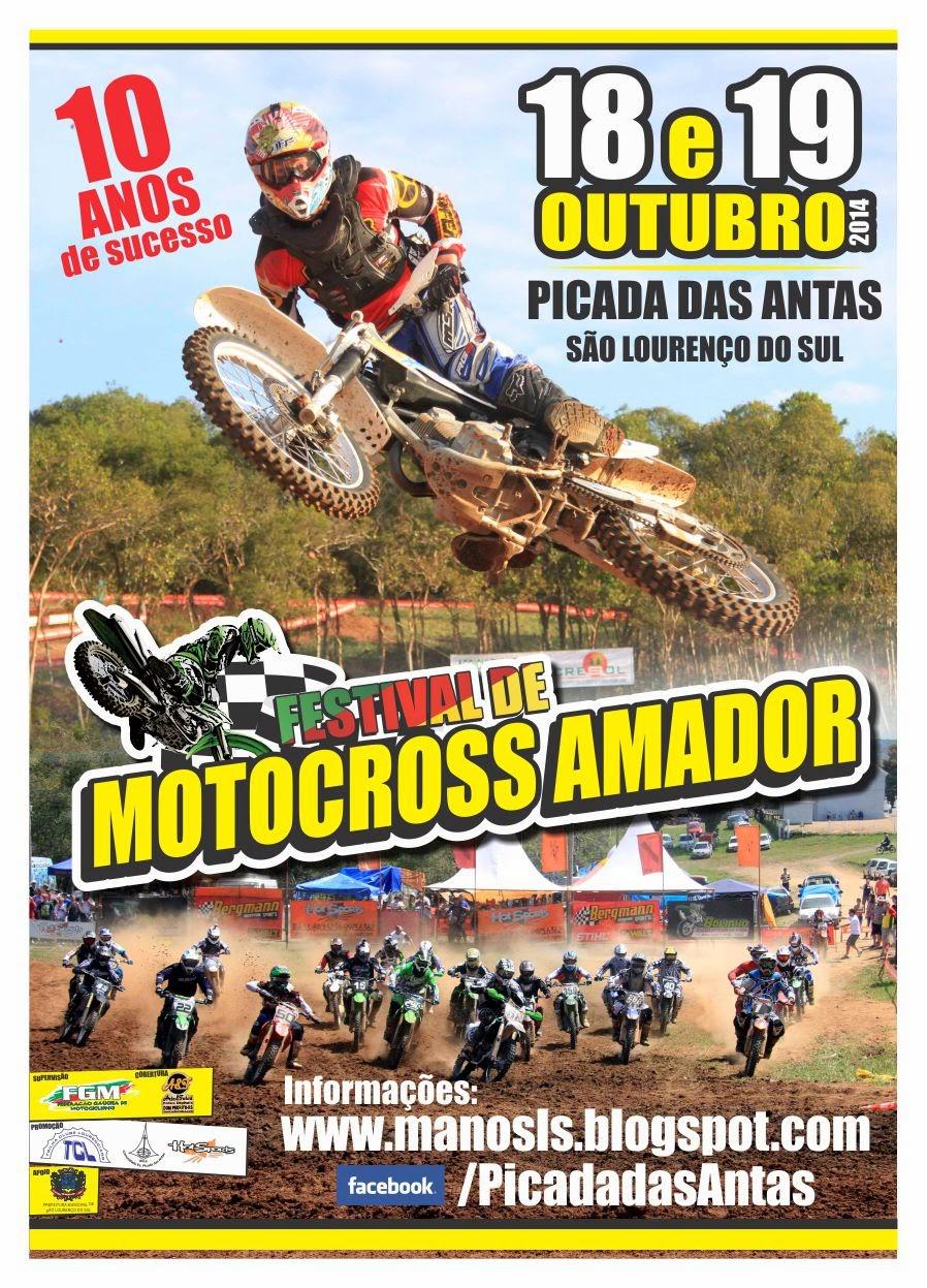 MOTOCROSS AMADOR - VELOTERRA - ZONA SUL - RS