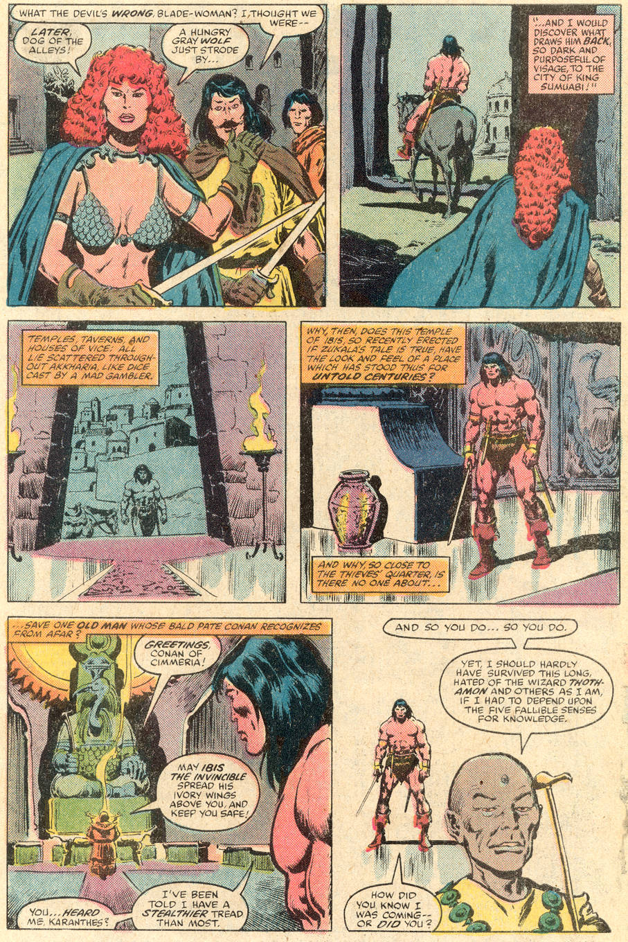 Conan the Barbarian (1970) Issue #115 #127 - English 16