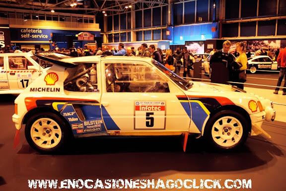 Peugeot 205 Turbo 16 Grupo B Madrid Motor Days