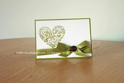 wedding, heart, stampin up, valentine